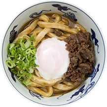 udon noodles, curry